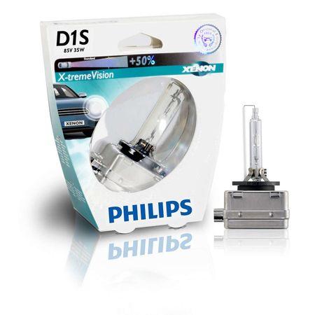 Ксеноновая лампа  PHILIPS XENON X-TREME VISION D1S 85415XVS1